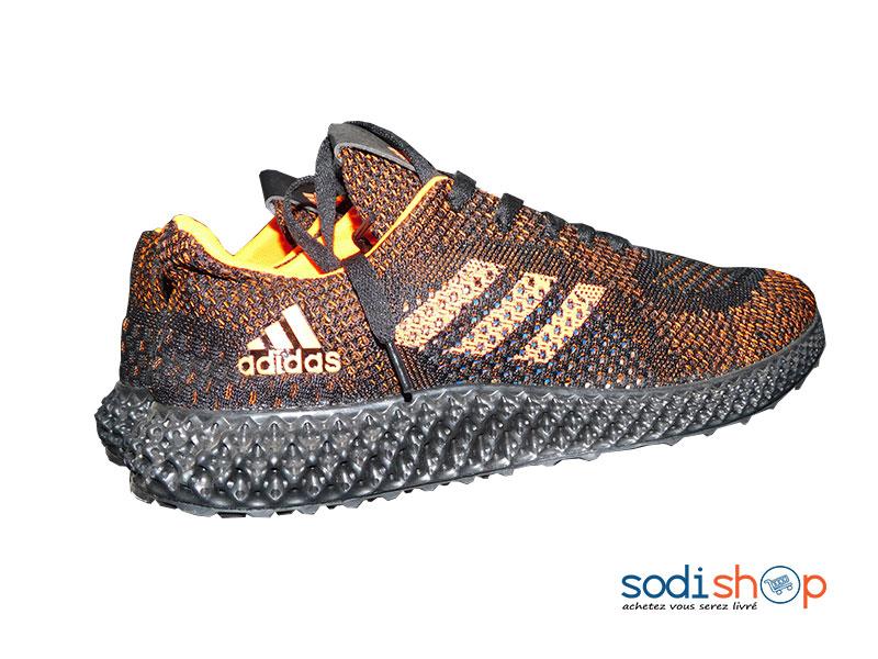 Chaussure de Sport Adidas Pour Homme Couleur Noire Orange GJ0058 ...