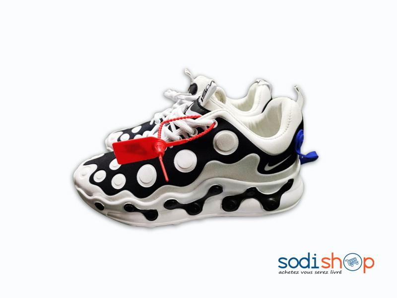 Chaussure Air Max Nike Pour Homme Noir et Blanc GJ0058 - SodiShop