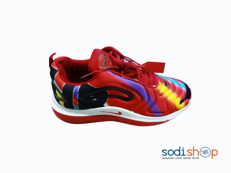 Basket Nike - Chaussure Pour Homme Couleur Rouge et Noir GJ0058 ...