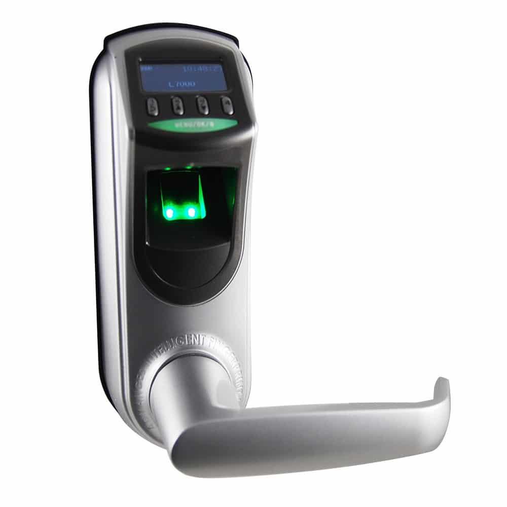 serrure biometrique empreinte digitale l7000 u sodishop. Black Bedroom Furniture Sets. Home Design Ideas