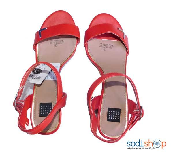 Ks0007 Couleur 39 Pointure Rouge Chaussure Talon Sodishop À TlcuFKJ31