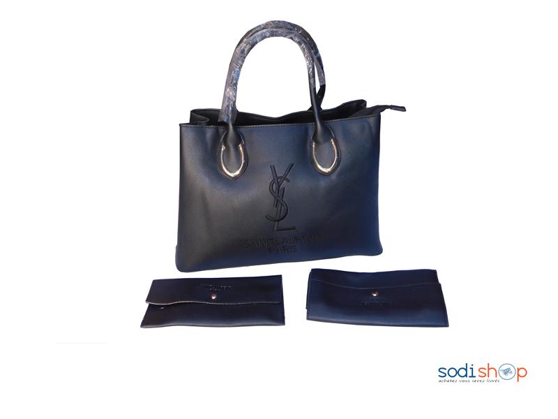 livraison gratuite bon marché joli design Sac à Main Yves Saint Laurent pour Femme Couleur Noire KS0009
