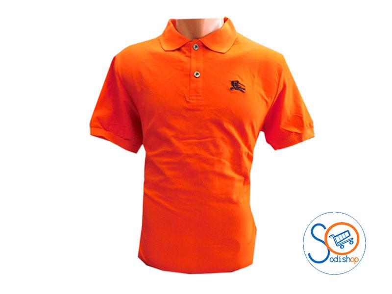 2f648191a1 Polo class en coton pour homme - couleur orange - BO0019 - SodiShop