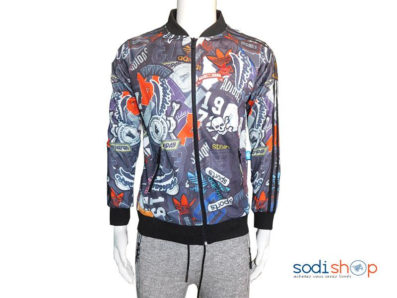 adidas jacket homme