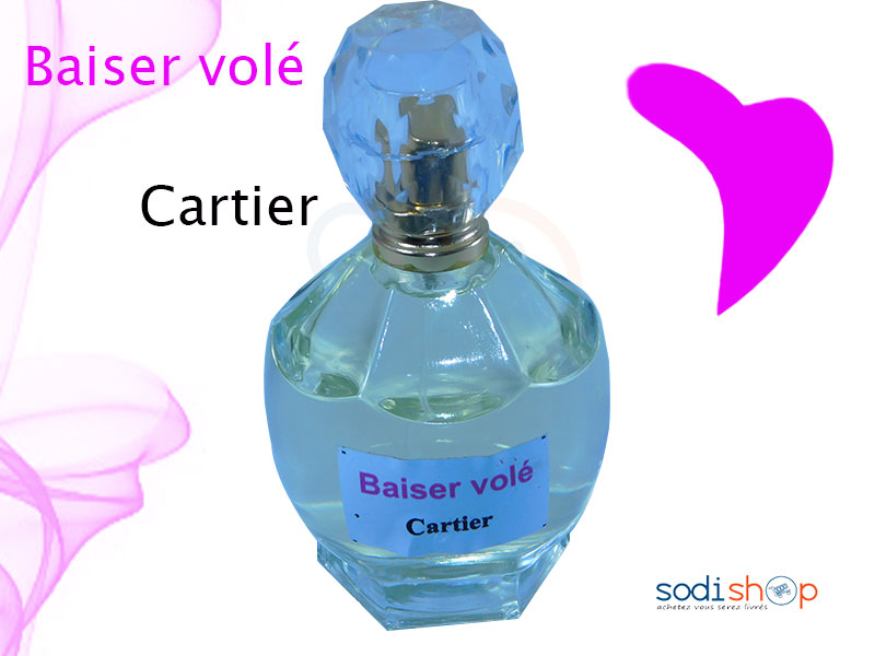 Parfum De Luxe Cartier En Vrac Baiser Voler Pour Femme Pe0035