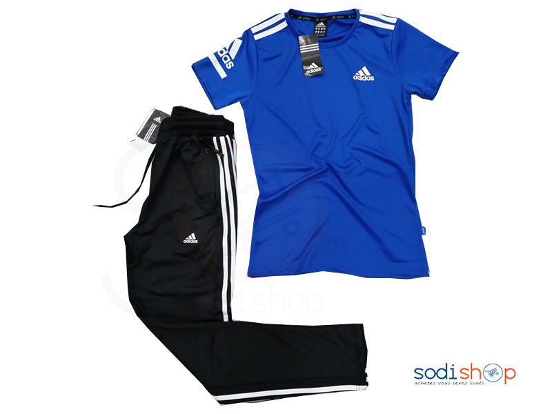 adidas ensemble homme bleu