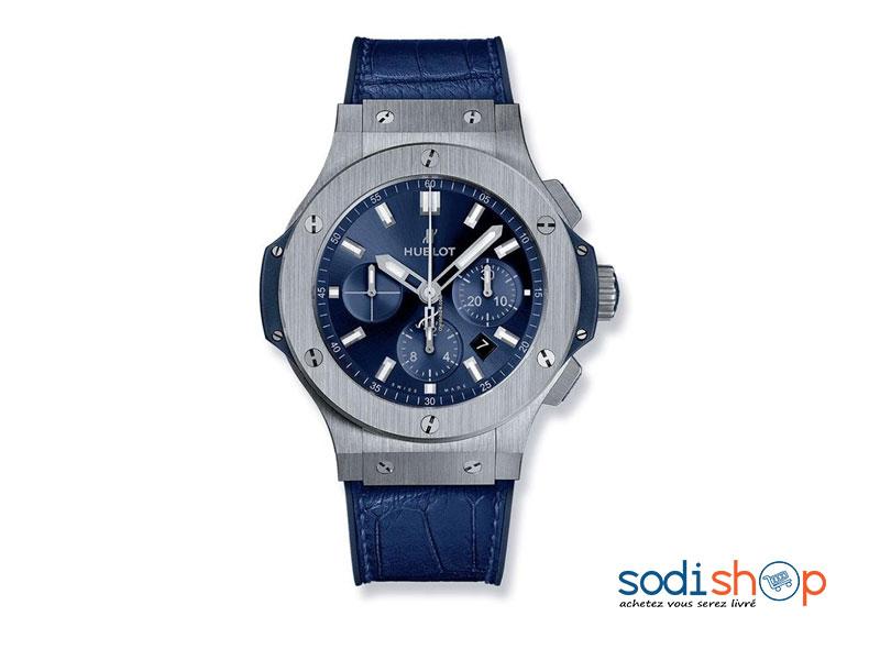 aa6cbee13a803 Montre de Luxe Hublot 582896, Pour Homme d'Affaires, Bracelet en ...