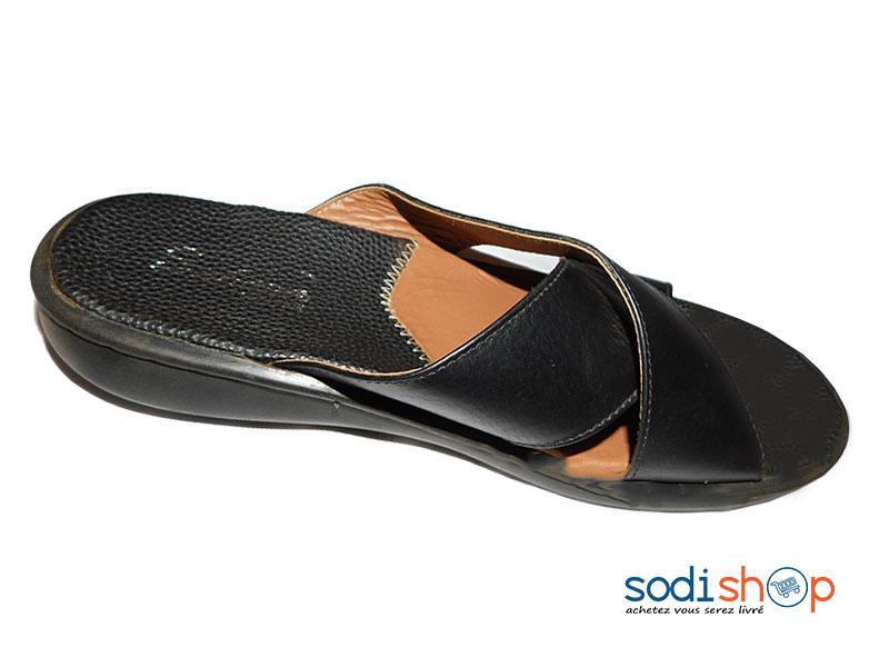 Noire Sodishop Couleur Sandale Homme Pour Ms0076 QdxWreBCEo