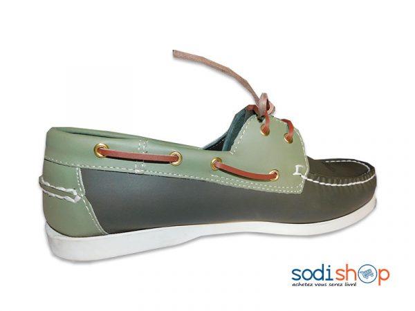 Couleur Ms0076 Pour Verte Mocassin Chaussure Sebago