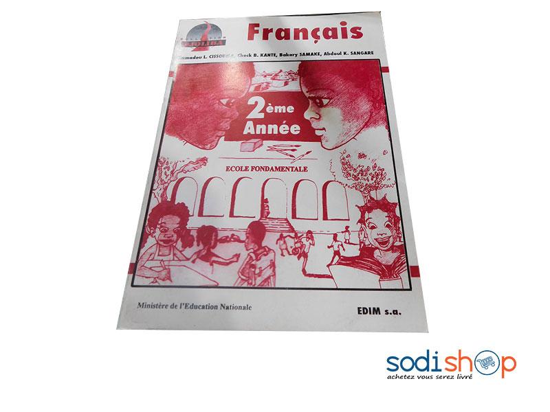 Livre De Francais Niveau 2eme Annee Collection Djoliba Pa0085