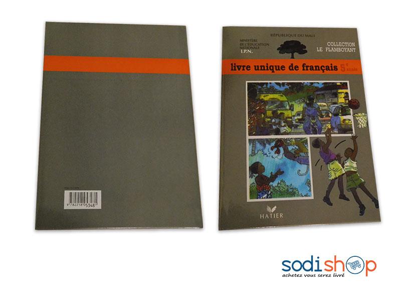 Livre De Francais Niveau 5eme Annee Collection Le Flamboyant Pa0085