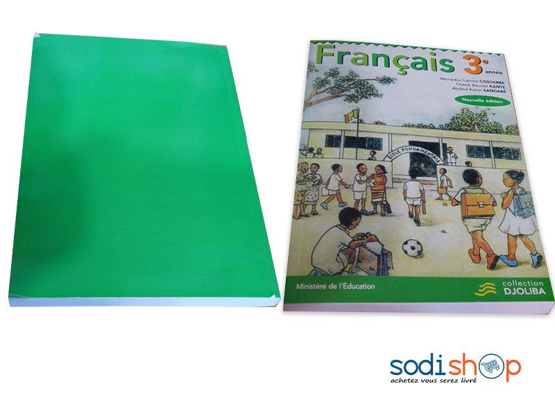 Livre De Francais Niveau 3eme Annee Collection Djoliba Nouvelle Edition Pa0085