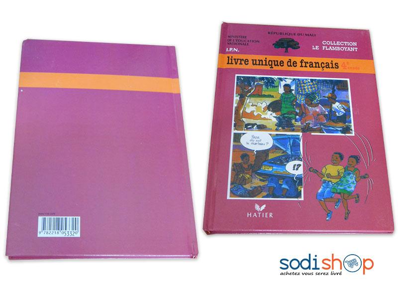 Livre De Francais Niveau 4eme Annee Collection Le Flamboyant Pa0085