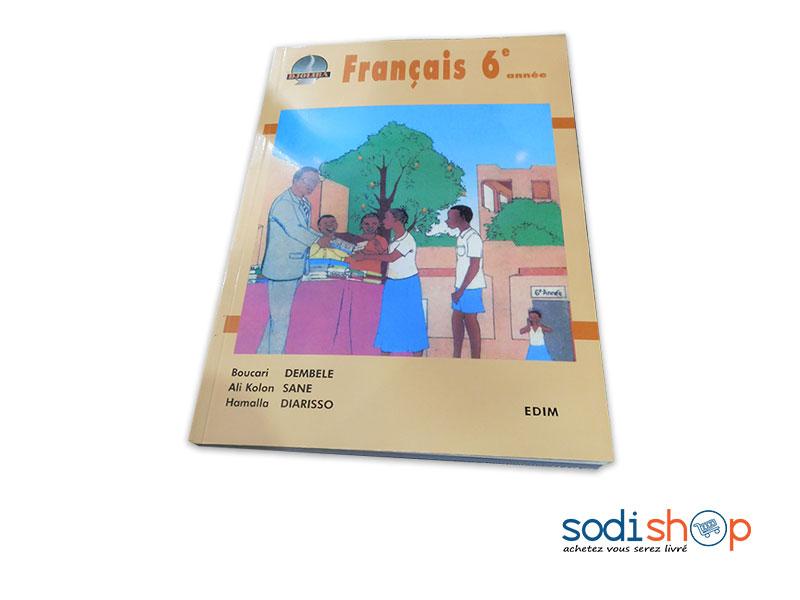 Livre De Francais Niveau 6eme Annee Collection Djoliba Nouvelle Edition Pa0085