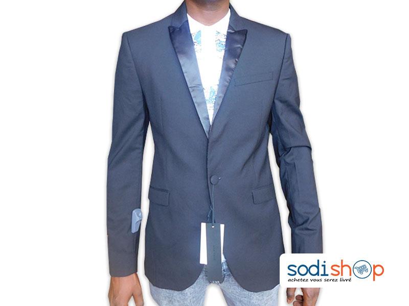 style limité prix bas performance fiable Blazer Smoking, Veste ZARA Pour Homme, Haute Qualité - Couleur Noir UN0079