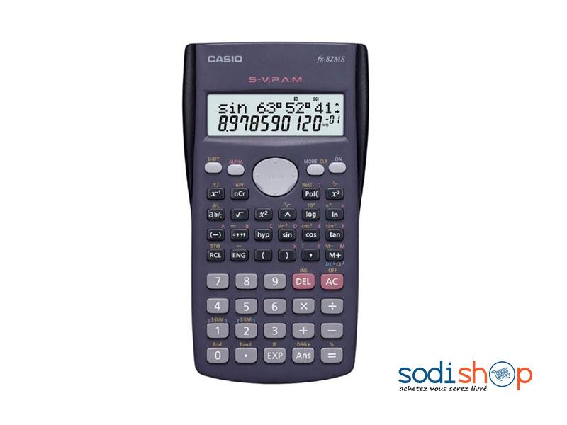 Calculatrice Scientifique Casio Fx 82ms Lb0091 Sodishop