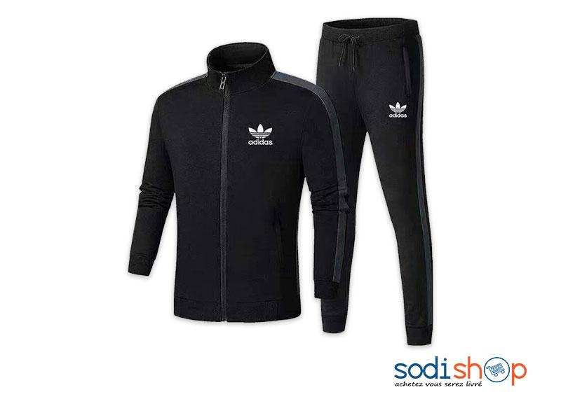 best cheap new styles quality products Jogging Vêtement de sport Pour Homme et Femme Marque Adidas Couleur Noir  WA0021