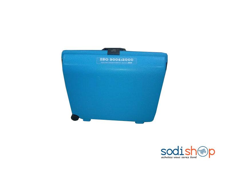 Valise Malle A Roulette Couleur Bleue Grande Capacite Ss0086 Sodishop