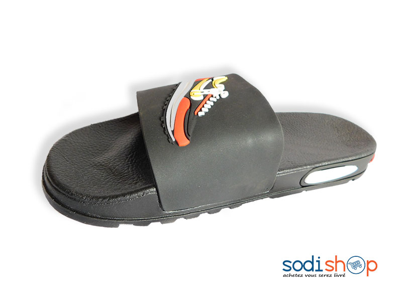 Chaussure de Sport Air Max Nike Couleur Noire Orange MS0076